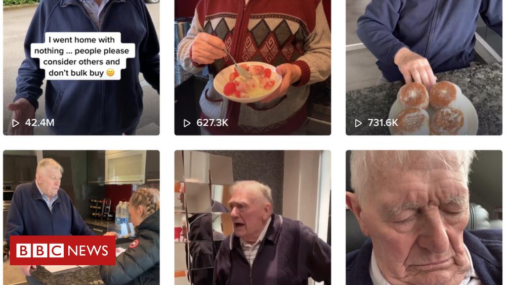 Internet marketing Coronavirus: The grandad who became a TikTok star without realising it